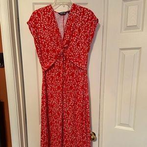 Classy cotton maxi dress